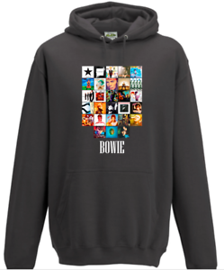 Clothing Gift David Bowie Album Art Hoodie Stardust Album Xma Music Lover