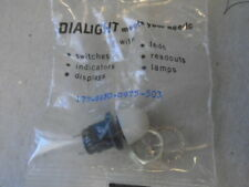 1 Ea Nos Dialight Panel Indicator Light With White Lens Pn 177 8430 0975 503