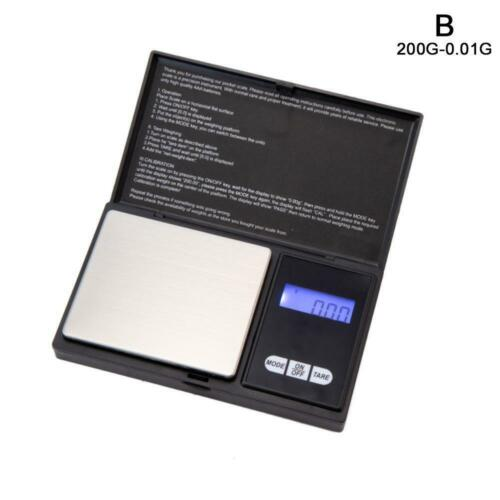 500g Precision Digital Scales for Gold Jewelry 0.01 Weight Electronic Scale