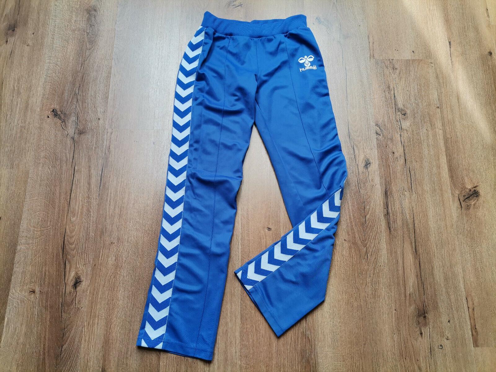Hummel Womens Sport Trousers Size S Blue