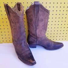 60e779ae649 Corral Boot Company Womens Dark Chedron Teal Handtooled Cowgirl ...