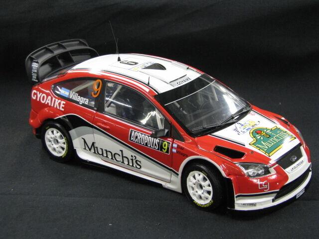 Sun Star  Ford Focus RS WRC 2009 1 18  9 Villagra   Diaz Rally Acropolis (MCC)  meilleur service