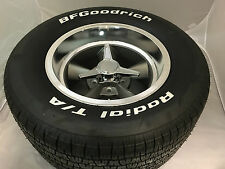 SET OF 4 SPINNERS FITS NEWER U.S. MAGS WHEEL RIM CENTER CAPS TRIBAR KNOCKOFF