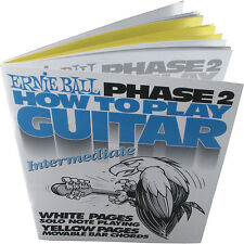 Ernie Ball How Para Tocar Guitarra Phase 2 Libros
