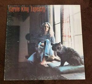 Vintage-1971-Carole-King-034-Tapestry-034-gatefold-LP-Ode-Records-SP-77009-EX