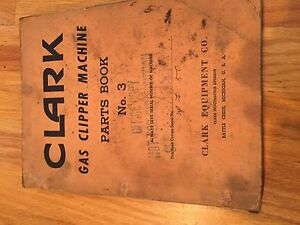 ross clipper gas lift truck forklift parts catalog maintenance rh ebay com Clark Clipper Forklift Model 2024 Clark Clipper Forklift Parts