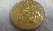 Vintage 1969 Mardi Gras Doubloon: Advertisement for Mary's Mardi Gras Doubloons