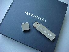 Panerai 4GB Steel USB including a 3GB Full Press Kit 2016 New