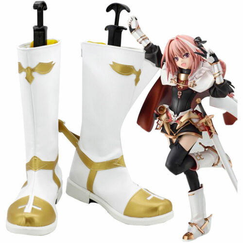 Details about  /Fate Apocrypha Astolfo Cosplay Shoes Boots Halloween Boots {sfgh}