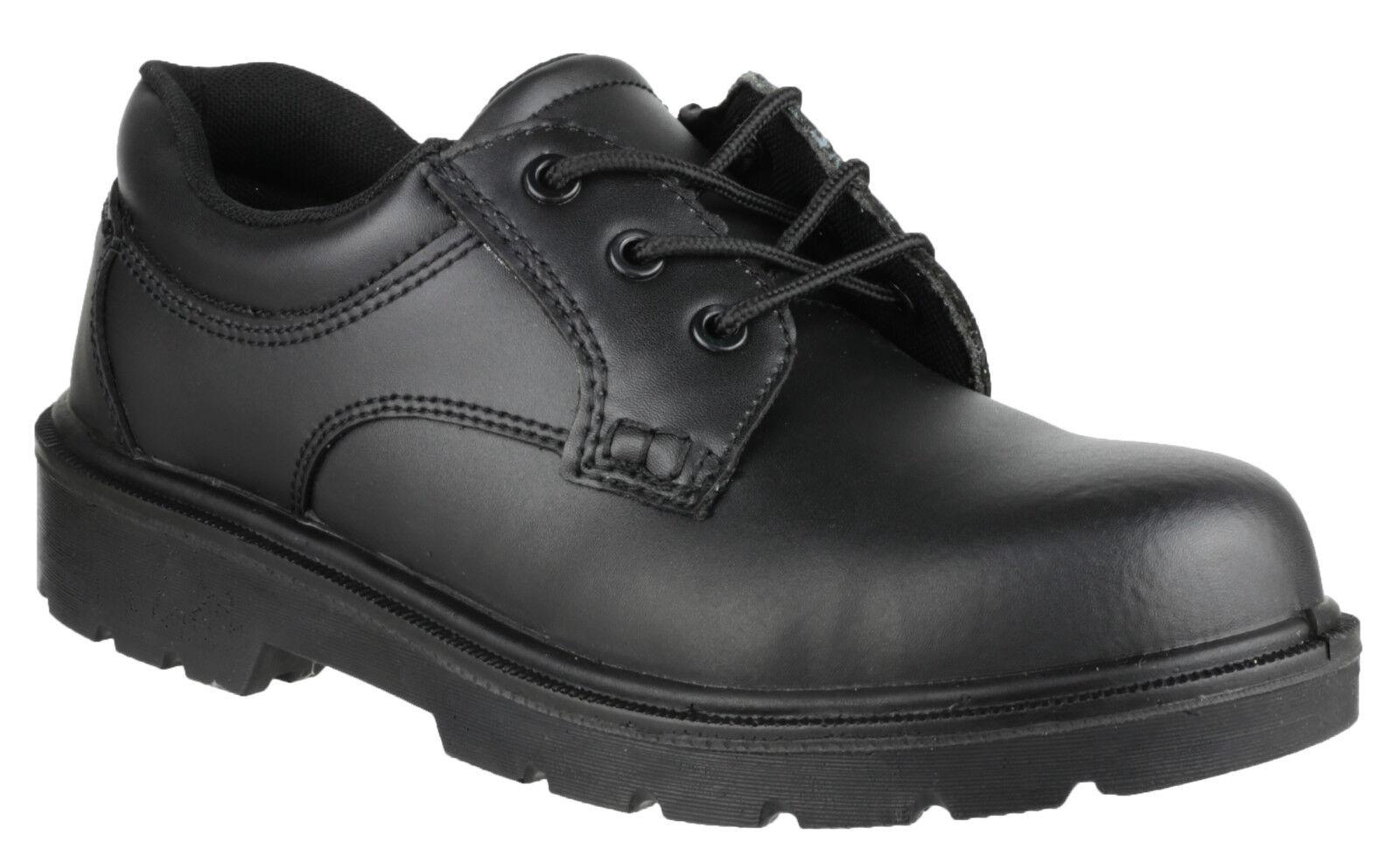 Amblers FS41 Safety Steel Toe Cap Mens Boys Gibson Industrial Work UK4-15