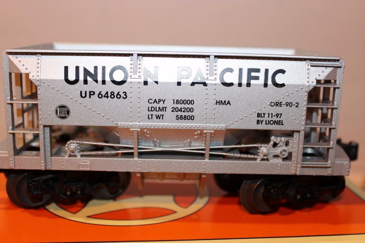 LIONEL- 26922 - UNION PACIFIC DIECAST ORE CAR- 0/027- NEW- B1