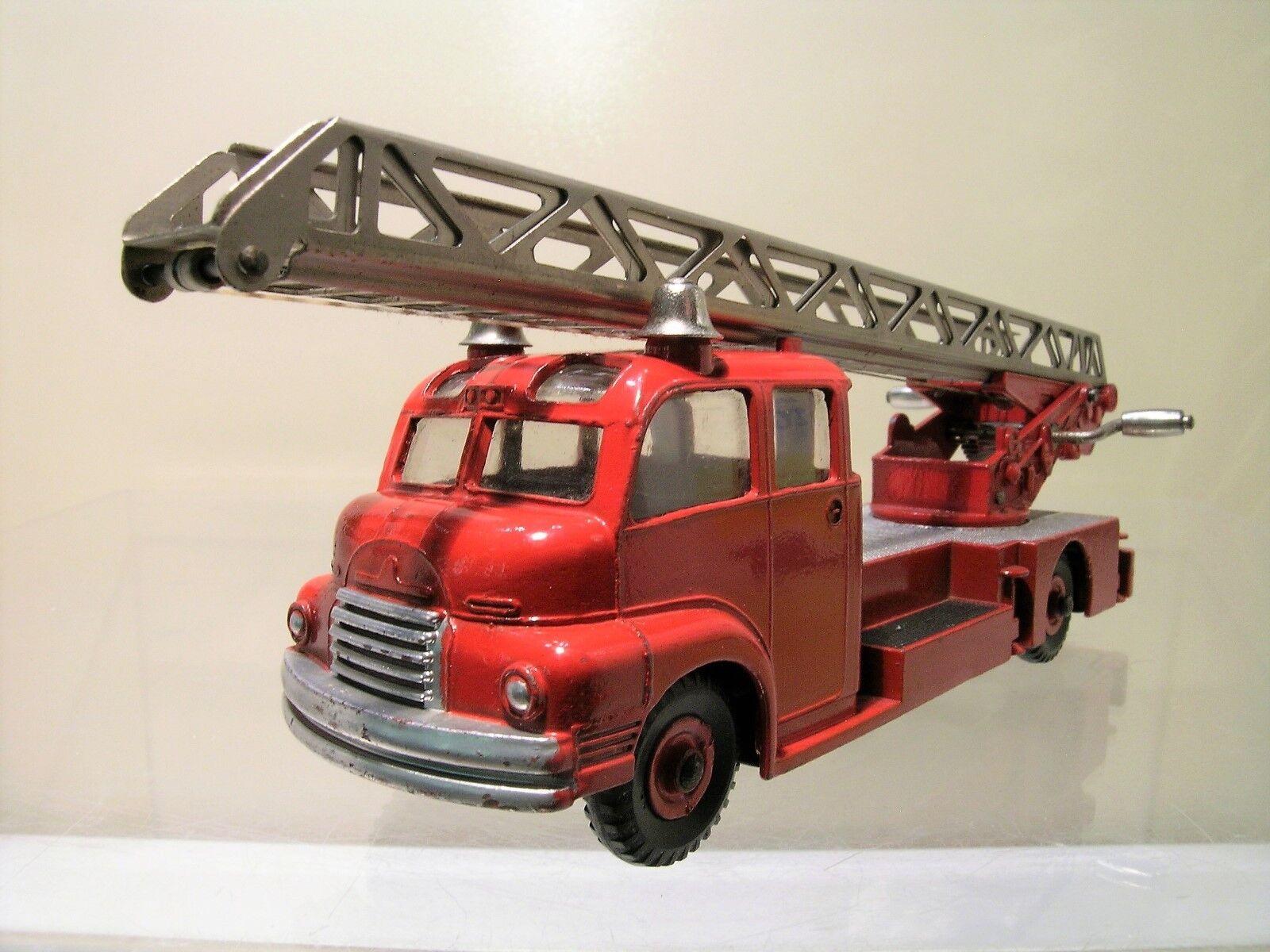 Tienda 2018 DINKY súperTOYS 956 BEDFORD TURNTABLE FIRE ESCAPE ESCAPE ESCAPE LORRY rojo 1 43  en venta en línea
