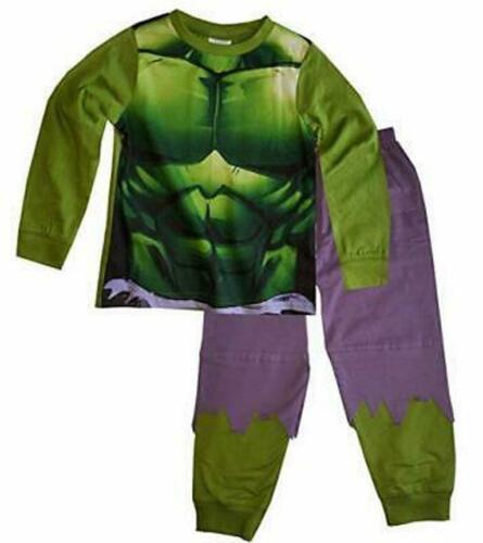 Kinder Jungen Marvel Avengers Pyjama Unglaubliche Hulk Pyjama Satz