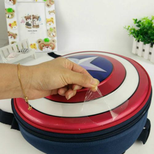 Captain America Schild Rucksack Marvel Avengers Superheld Schulranzen Kinder