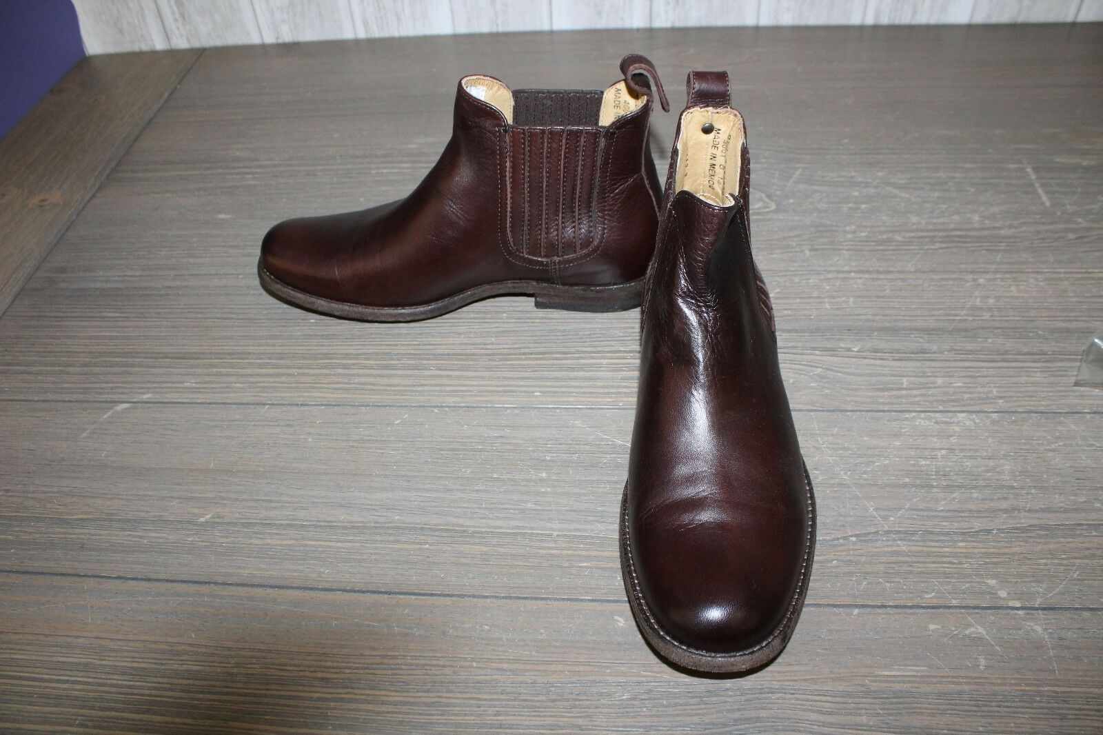 Frye 'Phillip' Chelsea Boot - Men's Size 9.5 B, Brown (DAMAGED)