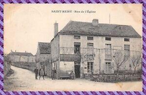 Saint-Remy-rue-de-l-039-eglise-Epicerie-BRIDANT-BOUSSARD-RARE
