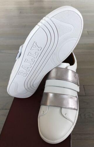 sneakers 9 witte ons Italy Willet In en zilveren 550Bally Made lederen maat vnOmNP80yw