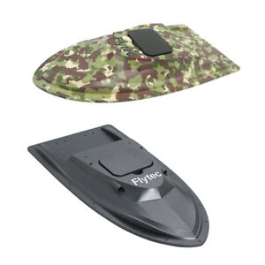 Electric-Fishing-RC-Bait-Boat-Hull-Top-Shell-Black-for-Flytec-V007-Parts
