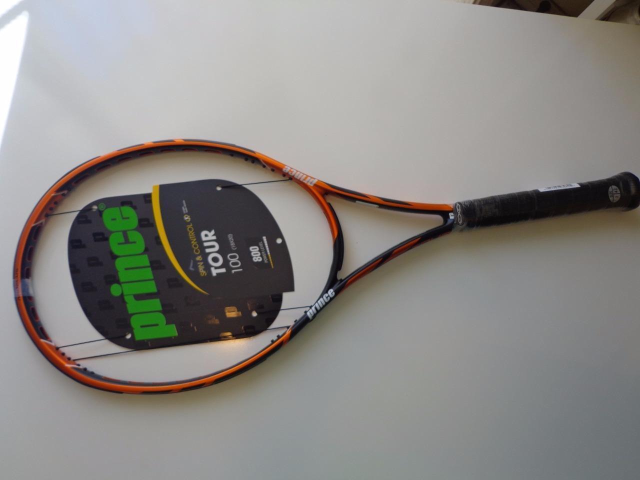 NEW Prince TOUR 100 18x20 4 3 8 grip Tennis Racquet