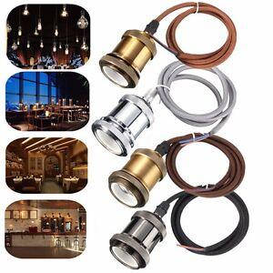 1M-E27-E26-Titulaire-Culot-Douille-Cuivre-Pendentif-Loft-Cable-Retro-Edison-Bulb
