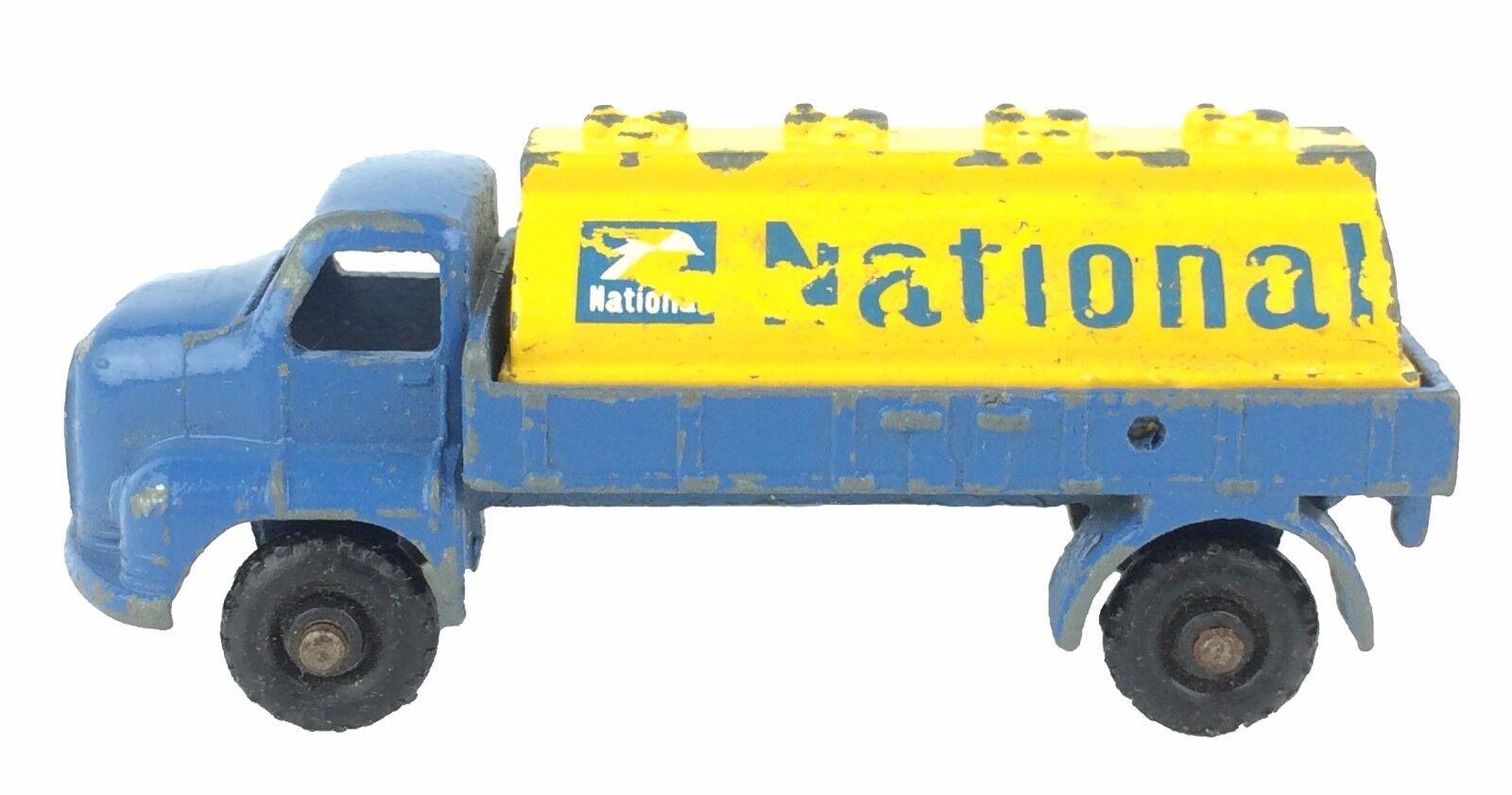 Budgie Modelo Vintage Vintage Vintage Juguete Diecast Nacional Petrolero serie camión de aceite b92cae