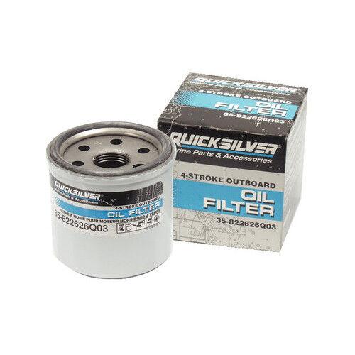 Original Mercury Fueraborda Mariner Filtro de Aceite Del Motor 35 822626Q03 15hp