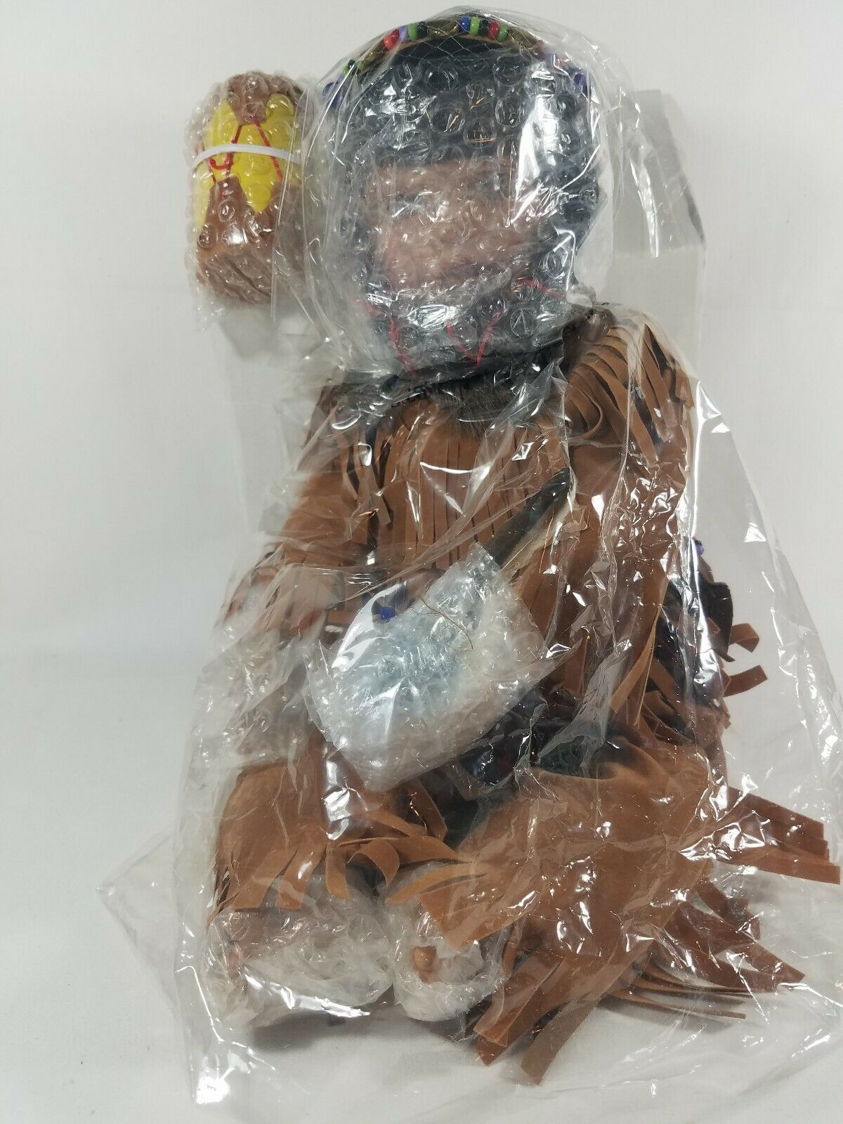 NEW IN BOX NATIVE AMERICAN PORCELAIN DOLL ABC   25188 NPD