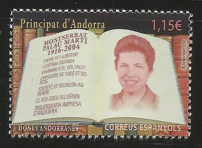 Andorra Briefmarken Gewissenhaft Spain Andorra Moptserrat Palau Martí Mnh Neuheit 2016