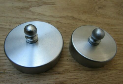 SOLID BRASS HANDRAIL Support Stair Rail Bracket Cap Balustrade Wall Mounted