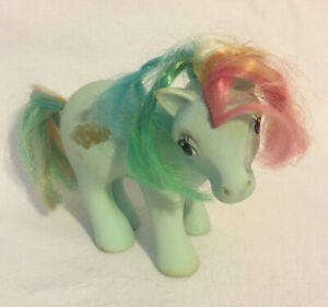 My-Little-Pony-Sunlight-G1-1983-Vintage-MLP-Year-2-Rainbow-Pony-Hasbro-Hong-Kong