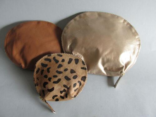 Cosmétiques poches Set de Cinnamon Skye 3tlg cuir soldes NEUF