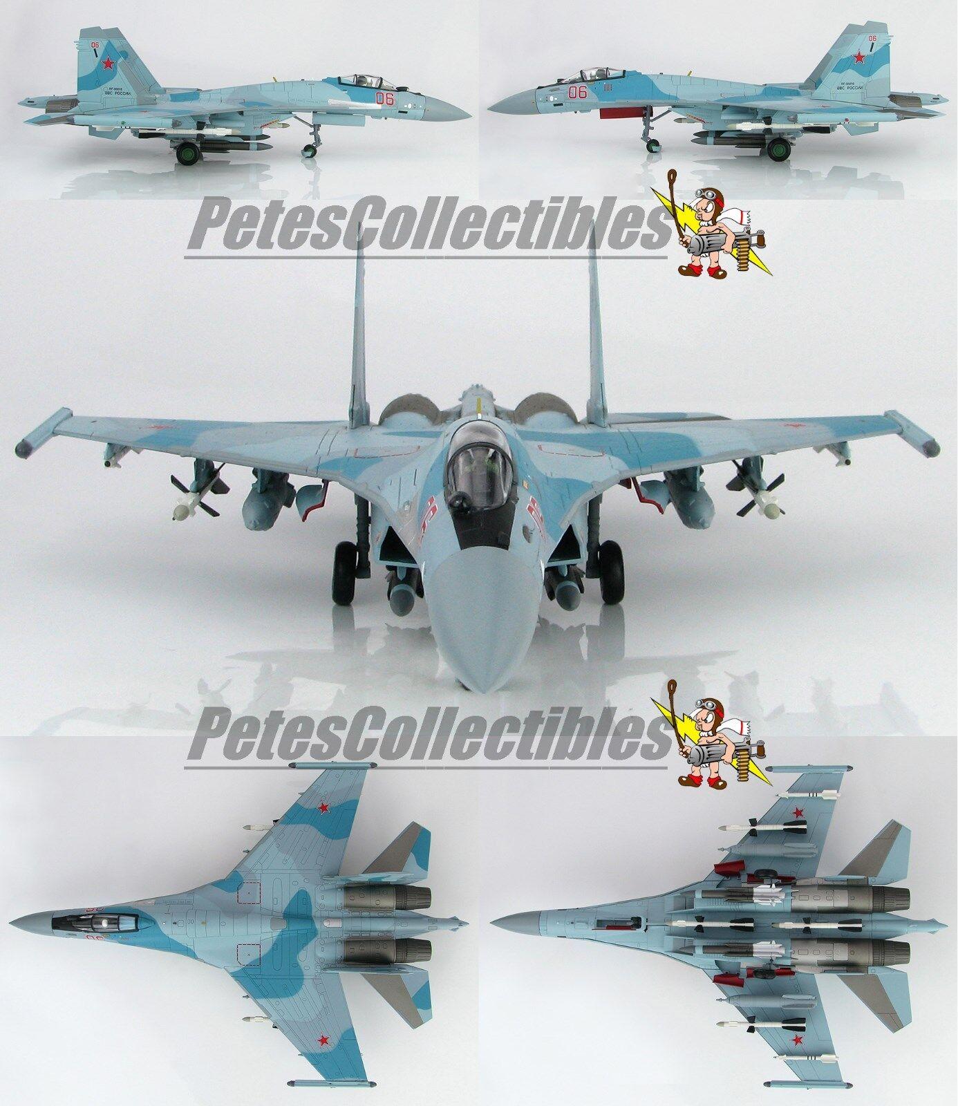 Hobby Master Master Master HA5702 Su-35S Flanker E Russian Air Force Red 06 Latakia Syria 1 72 f9f408