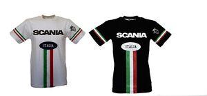 ee103a417a Caricamento dell'immagine in corso T-SHIRT-MAGLIA-MAGLIETTA-SCANIA -BAMBINO-ITALIA-COTONE-