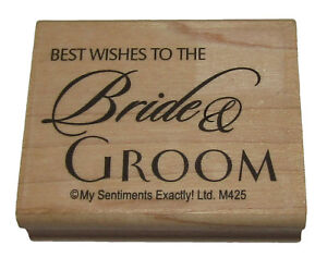 image is loading best wishes to the bride amp groom rubber