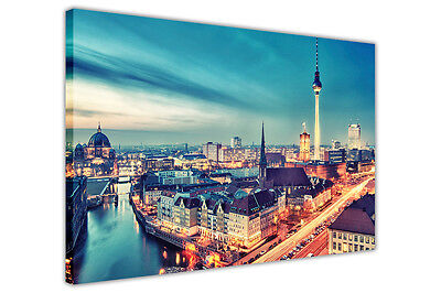 BERLIN GERMANY CANVAS WALL ART PICTURES CITY PRINTS DECORATION POSTERS PHOTOS