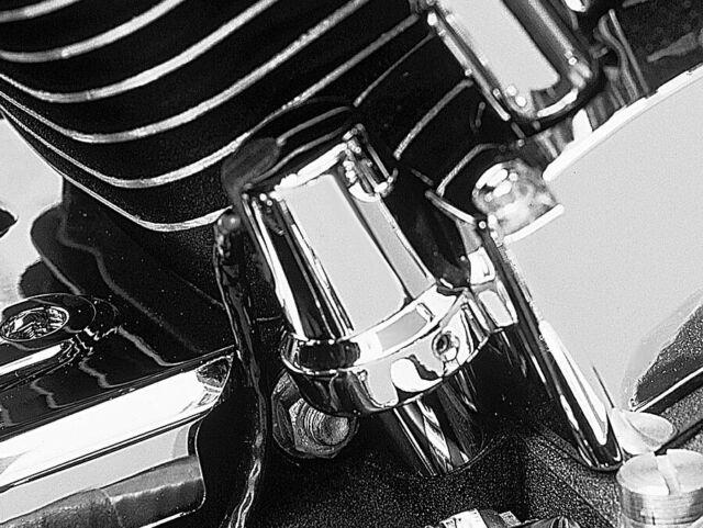 Kuryakyn 8136 Oil Pressure Sending Unit Cover Set For Harley