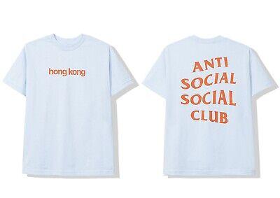 DS Anti Social Social Club ASSC white Logo Korean Flag The Drive Royal Blue Tee