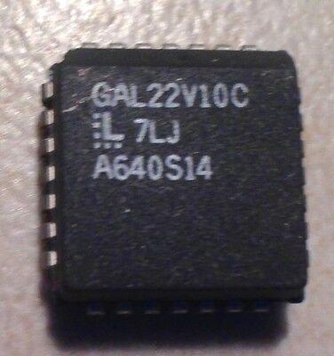 5PCS GAL16V8C-7LJ PLCC20 LATTICE