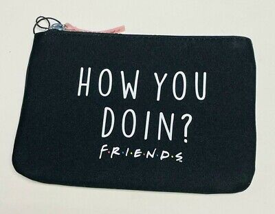 Friends Central Perk Backpack Toiletry Wash Bag Zip Up Make up Pouch Primark