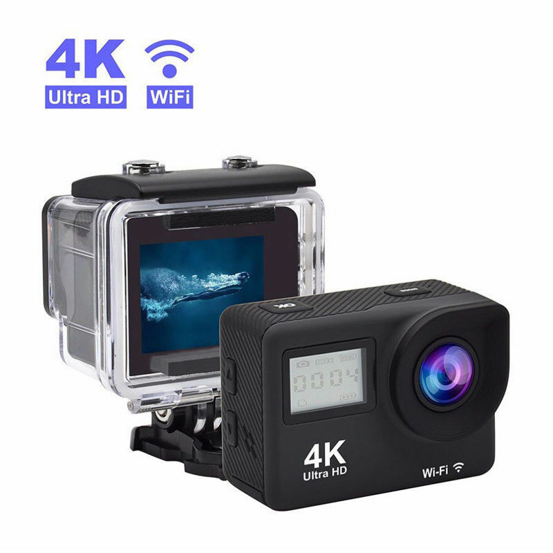 Action Kamera WiFi 4K UltraHD Waterproof Sport DV Camcorder Remote Action Camera