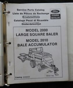 NEW-HOLLAND-MODEL-2000-LARGE-SQUARE-BALER-2010-BALE-ACCUM-PARTS-CATALOG-MANUAL