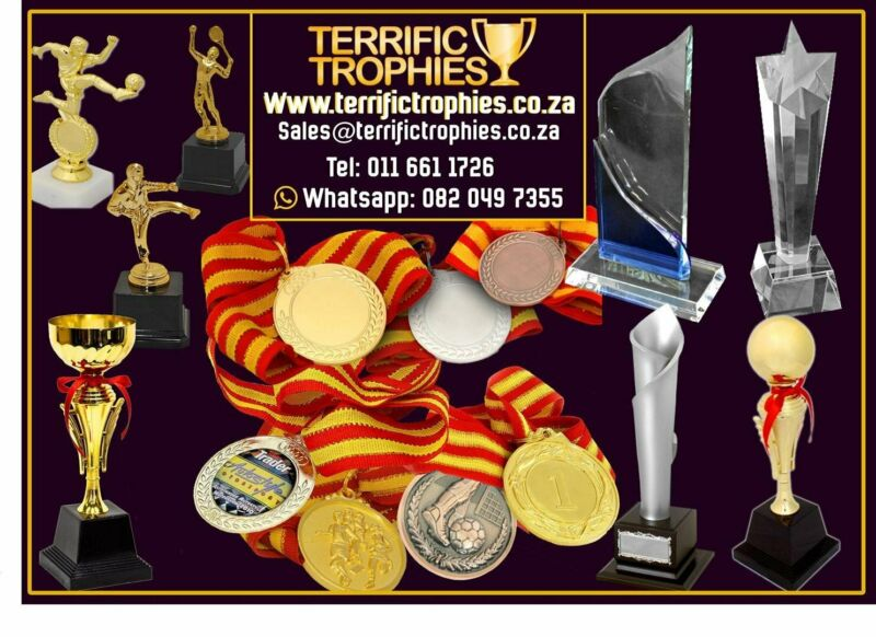 Metal Sports Medals with ribbon 34mm Gold, Silver and Bronze, brand new  wide range of trophies, med
