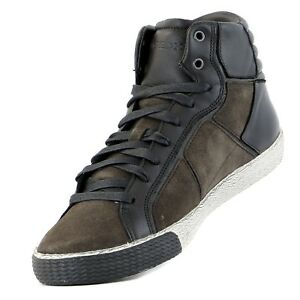 Details about Rare Geox Mens Classic Euro Suede Sneakers New size 43 (10 US) shoes High top