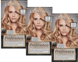 3x-LOREAL-Preference-GLAM-Lights-No1-Puntos-culminantes-del-pelo-Aspecto-PARA