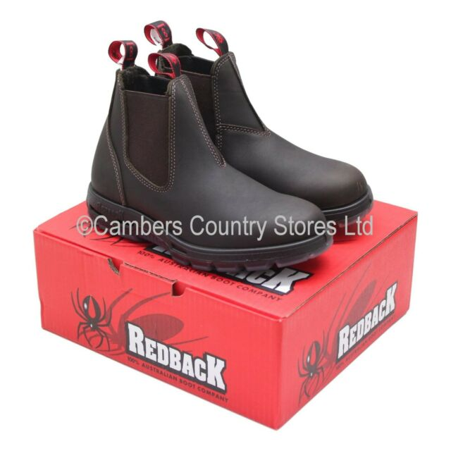 a96fdec78cc Redback BOOTS Unpu Brown Non Safety Australian Made UK 8.5