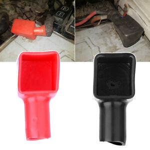 1Pair Car Battery Terminal Covers Protector Positive & Negative 192681 192682