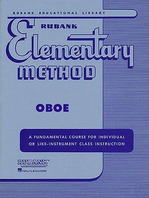Romantic Rubank Elementary Method Oboe Elementary Method New 004470050 Modern Techniques Musical Instruments & Gear Wind & Woodwinds
