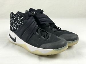 Image is loading Nike-Kyrie-2-ID-Black-Basketball-Shoes-Men- 3e72bac92fc6