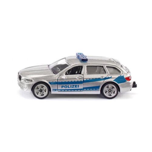 Siku 1401 BMW 5er Touring Streifenwagen blau//silber-neues Modell NEU!°