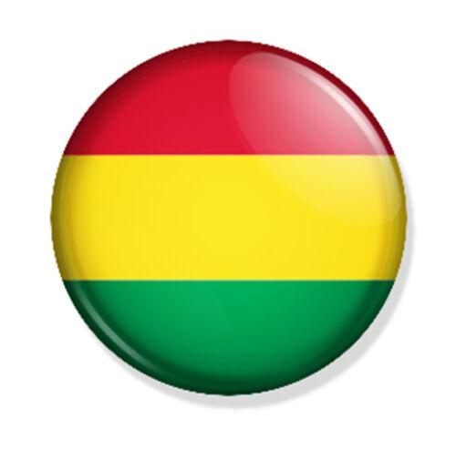 """Button /""""Nationalflaggen AMERIKA/"""" 25mm Ansteckpin"""